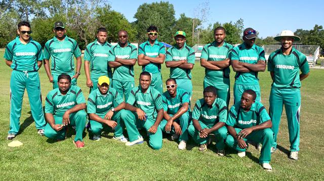 The Essequibo Guyana-Inter County team.