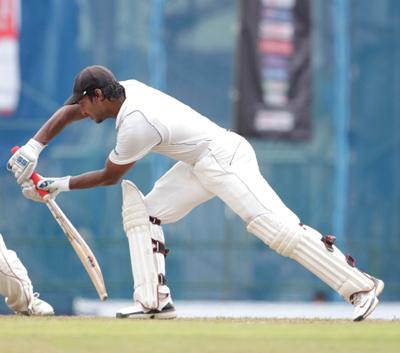 Kumar Sangakkara retired from test cricket at number seven of the rankings. Photo: WindiesCricket.com