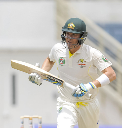 Michael Clarke who recently retired from test has finished his career rankings at twenty five.  Photo by WICB Media/Randy Brooks of Brooks Latouche Photography