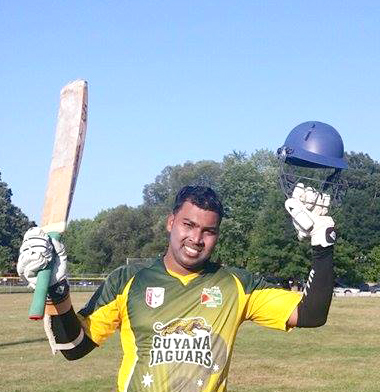 Sharaz Baksh half century and 2 for 28 helped Guyana Jaguar secure a win.