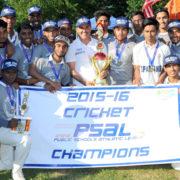 John Adams 2016 PSAL Cricket Champions