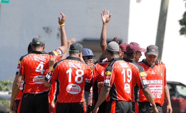 Trinidad & Tobago displayed a fine performance last Saturday against Pakistan in the Rockaway T20 New York Cricket Fiesta. Photos by Shiek Mohamed