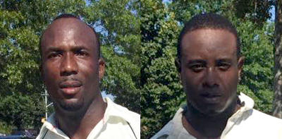 Glen Hall (left) has 3 centuries to his name.Xavier Marshall has so far amassed 830 runs at an average of 83.00 including 4 centuries.