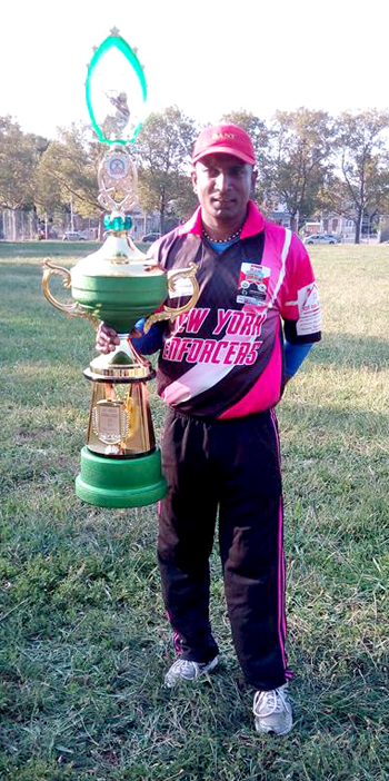 Hemnarine Chattergoon will focus more on his family and softball cricket.
