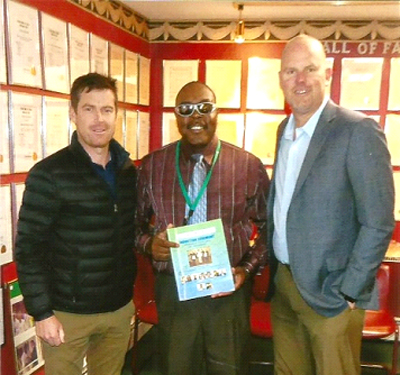 ICC Americas Officials Visit Cricket Hall of Fame In Connecticut