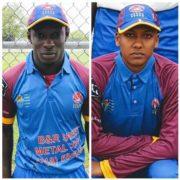Trinson Carmichael And Leon Mohabir Ground Falcons CC