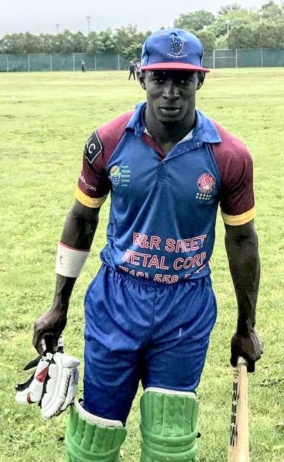 Dominique Rikhi Ton Up As RHLCC Beat Victory CC