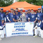 John Adams Are PSAL 2018 Cricket Champions