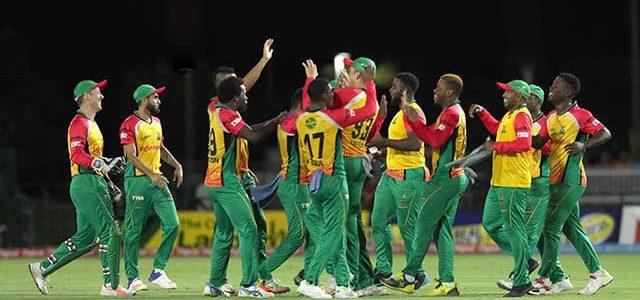 Guyana Amazon Warriors Announce Local Players Retention