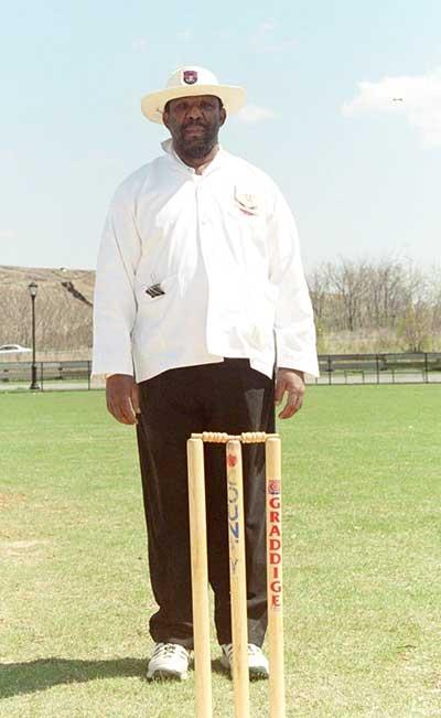 Umpire Carl Patrick