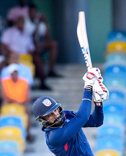 Jaskaran Malhotra batting