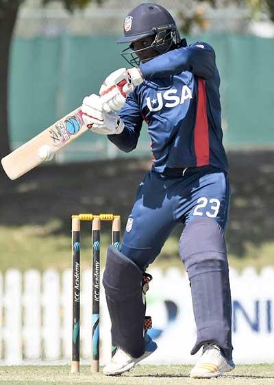 Xavier Marshall batting