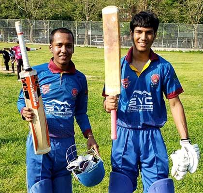 Leon Mohabir and Moien Khan