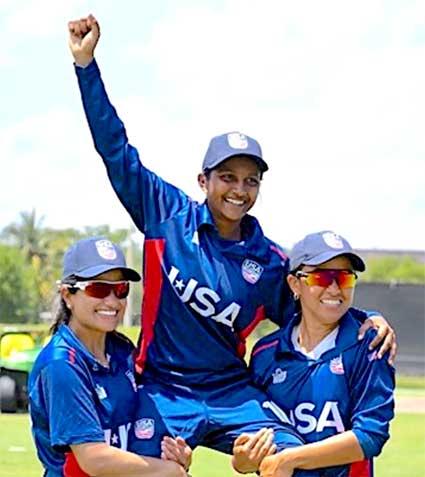Lisa Ramjit, usa cricketer lisa ramjit, usa female cricketer lisa ramjit