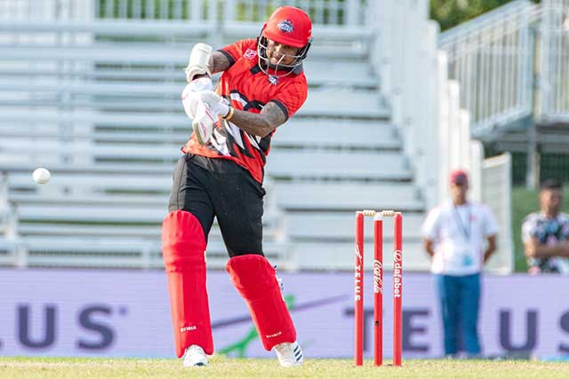 Sunil Narine, Sunil Narine in canada, Sunil Narine batting in global t20 canada