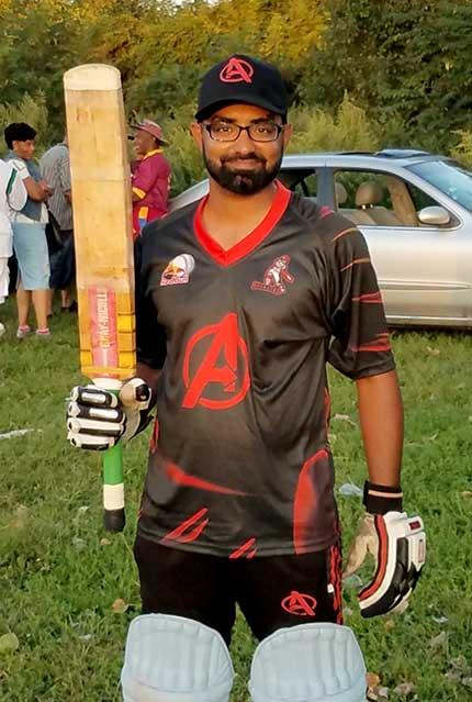 Nazim Hussain, cricketer Nazim Hussain,
