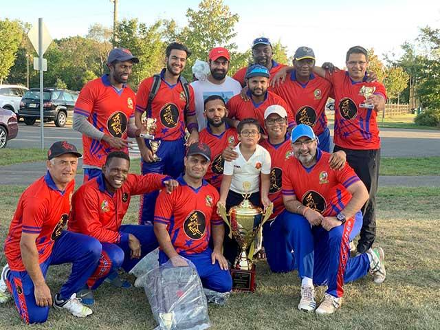 Princeton A Cricket Club, Princeton A Cricket players, Princeton A Cricket team,