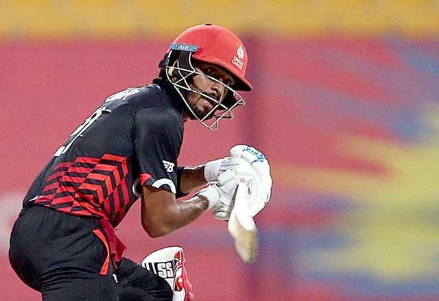Nitish Kumar batting, canada cricketer nitish kumar, canadian cricketer nitesh kumar