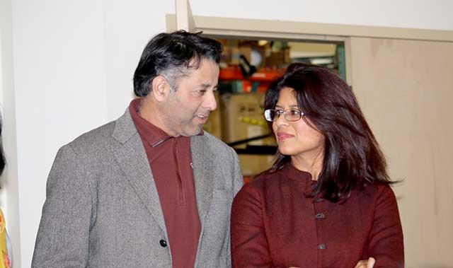 Rajib and Kanika Vohra