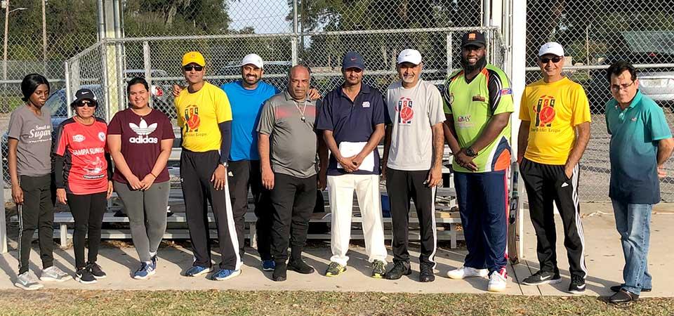 Jatin Patel with TCL participants