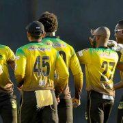 Jamaica Tallawahs Beat Amazon Warriors In Second Encounter