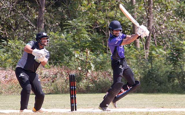 Dominique Rikhi in Minor League Cricket