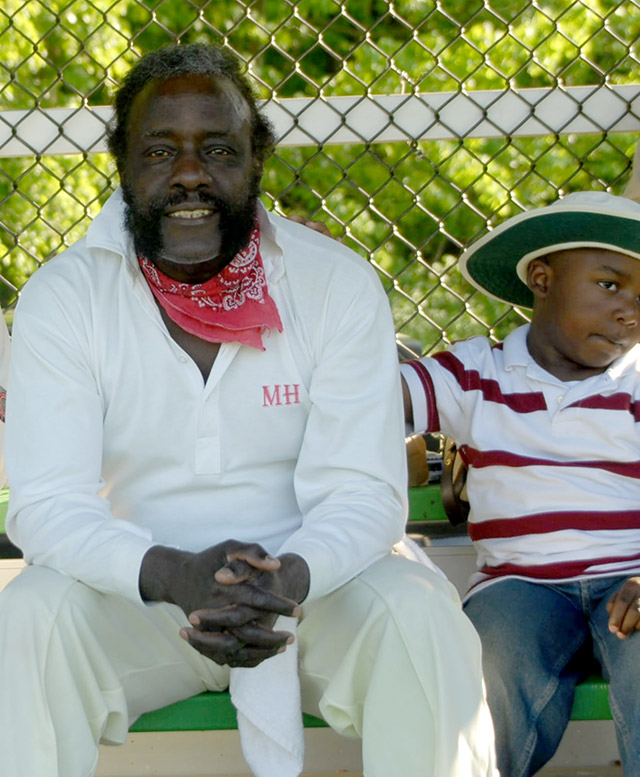 Wayne Stuger and son