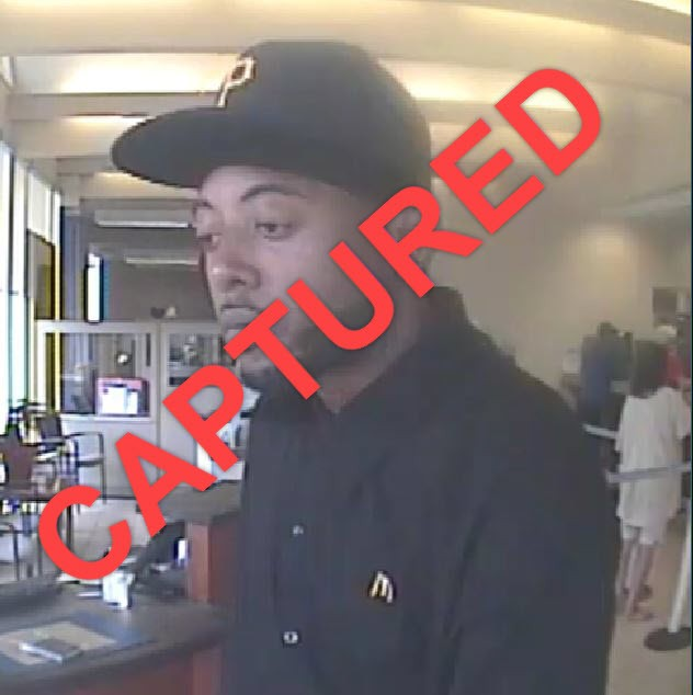 ?  CAPTURED – PNC Bank (Homeville) Robbery