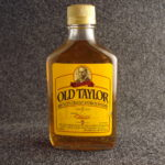 Old taylor 80 bottle