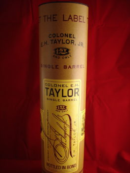 EH Taylor Single Barrel Cannister
