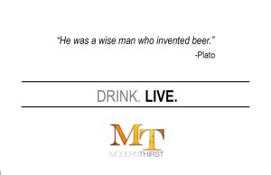DRINK. LIVE.  PLATO