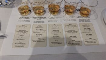 2015 Bourbon Classic Bourbon & Ham Pairing (2)