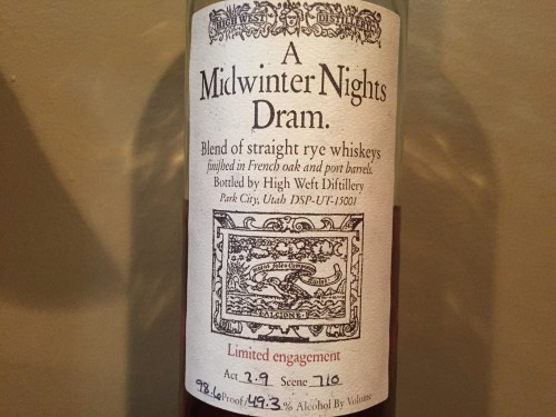 Midwinter Nights Dram 3