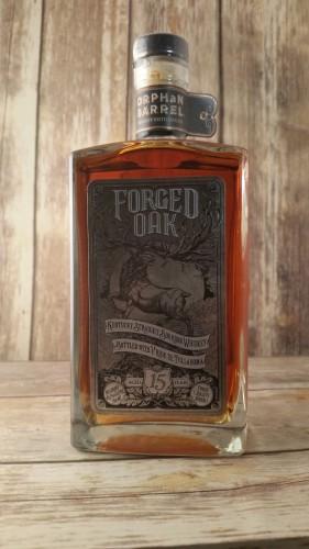 Forged Oak bottle