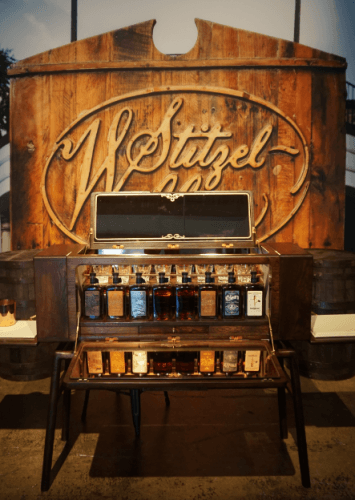 Orphan Barrel-Neiman Marcus Whiskey Cabinet