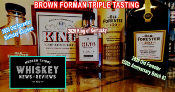 VIDEO: 2020 Brown-Forman Limited Editions Triple-Tasting- OFBB, KoK, 150th Anniversary
