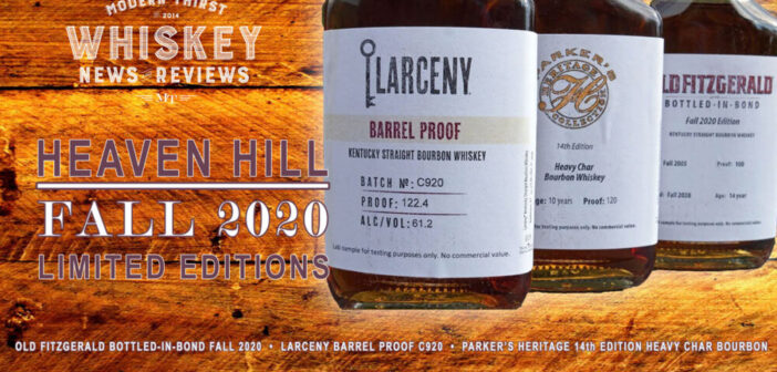 VIDEO: Heaven Hill Fall 2020 Limited Edition Bourbons Tasting