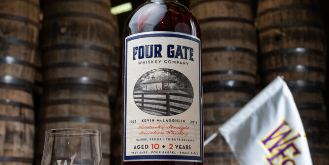 Four Gate Whiskey Company Honors the late Kevin McLaughlin of Kelvin Cooperage with a Special Release Benefitting West End School of Louisville