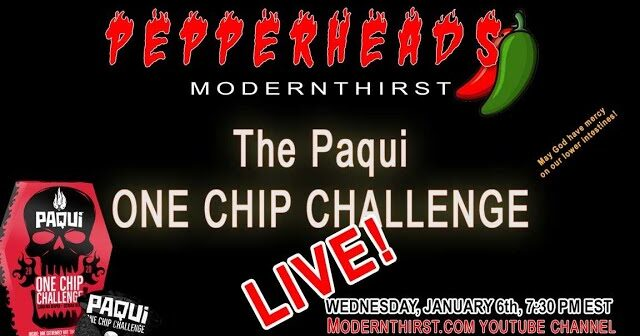 VIDEO: the Pepperheads attempt the #OneChipChallenge from Pacqui