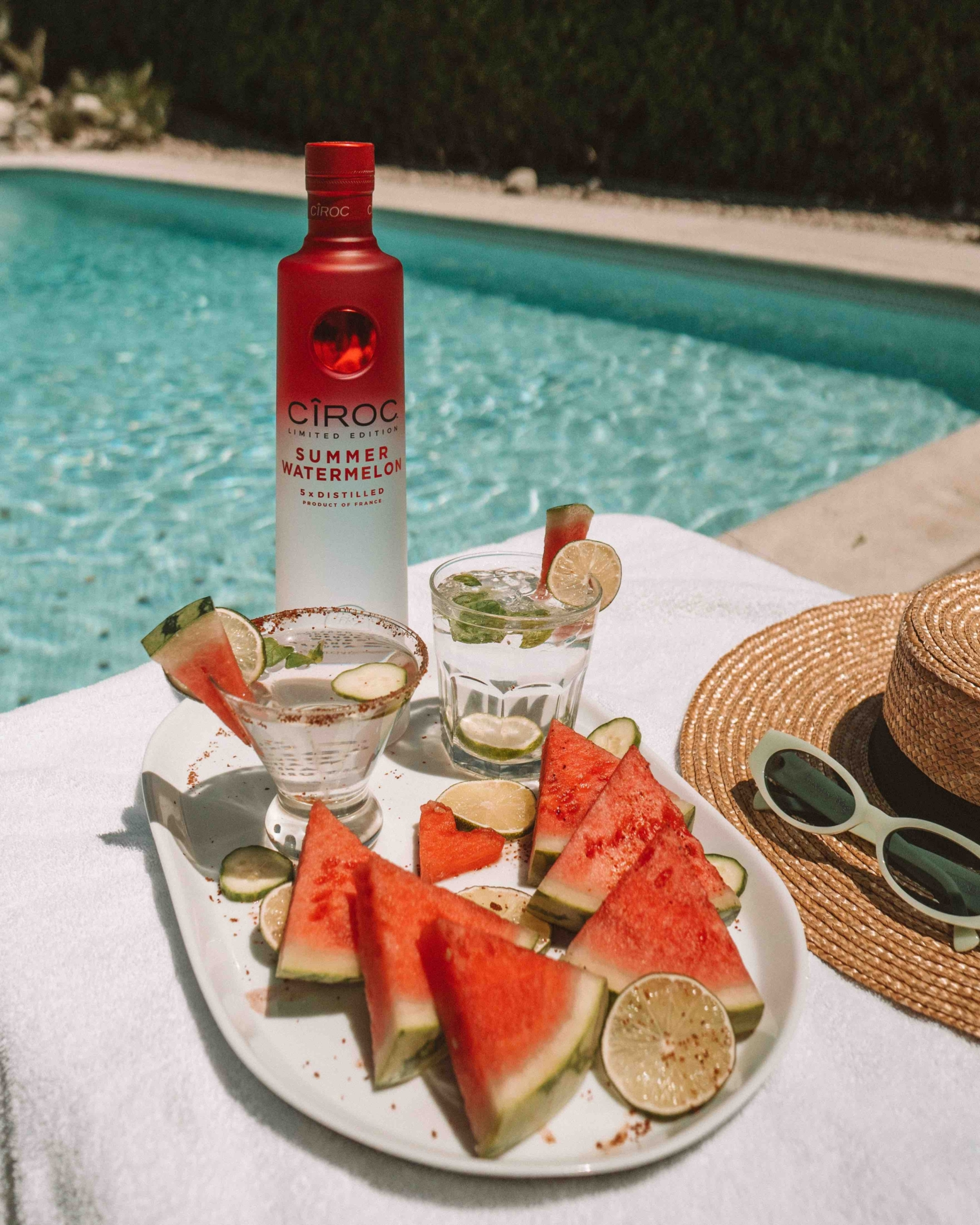 Sparkling Watermelon Cocktails