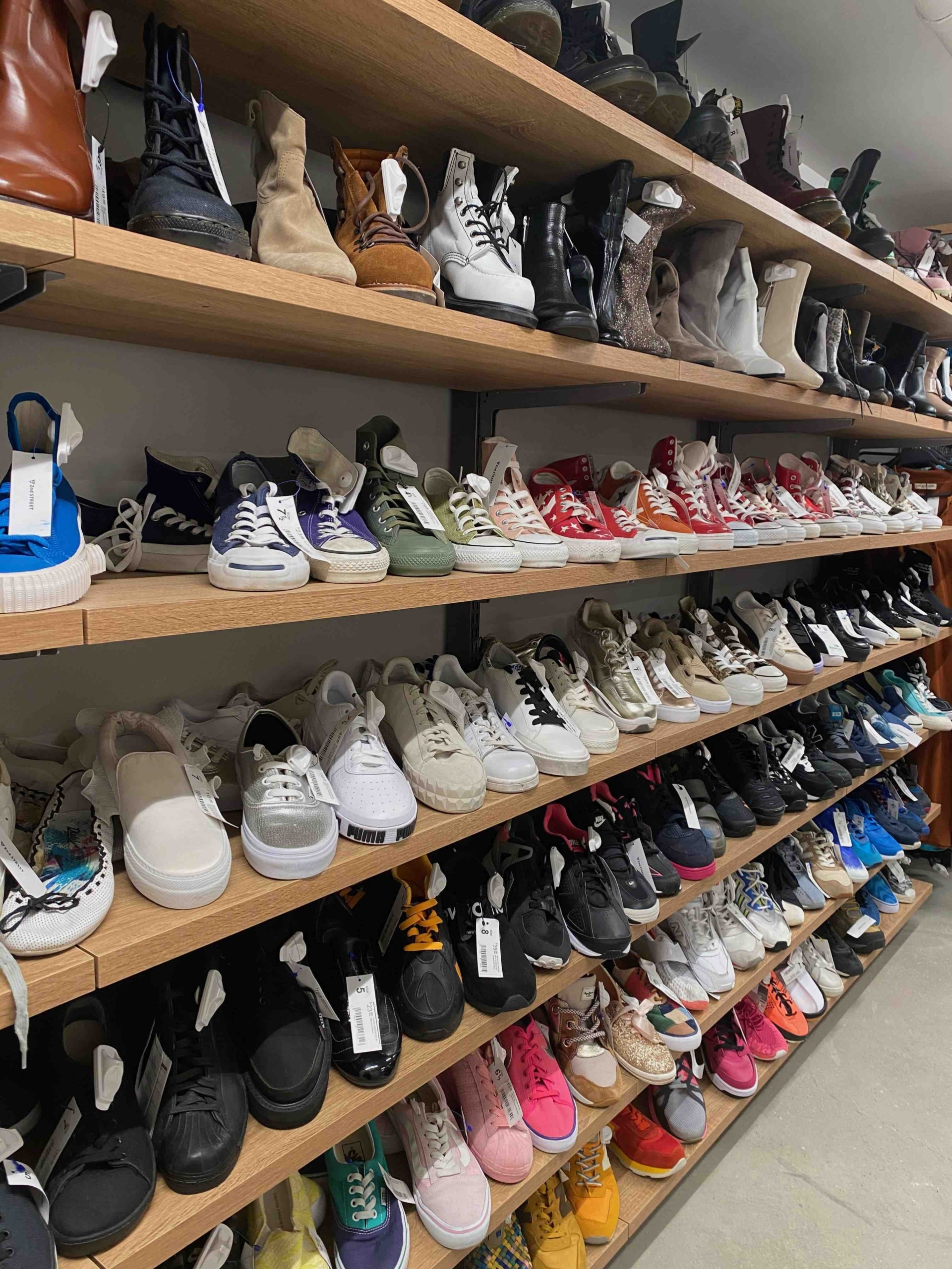NYC Thrift Stores Are The Best Gems For Sneakerheads