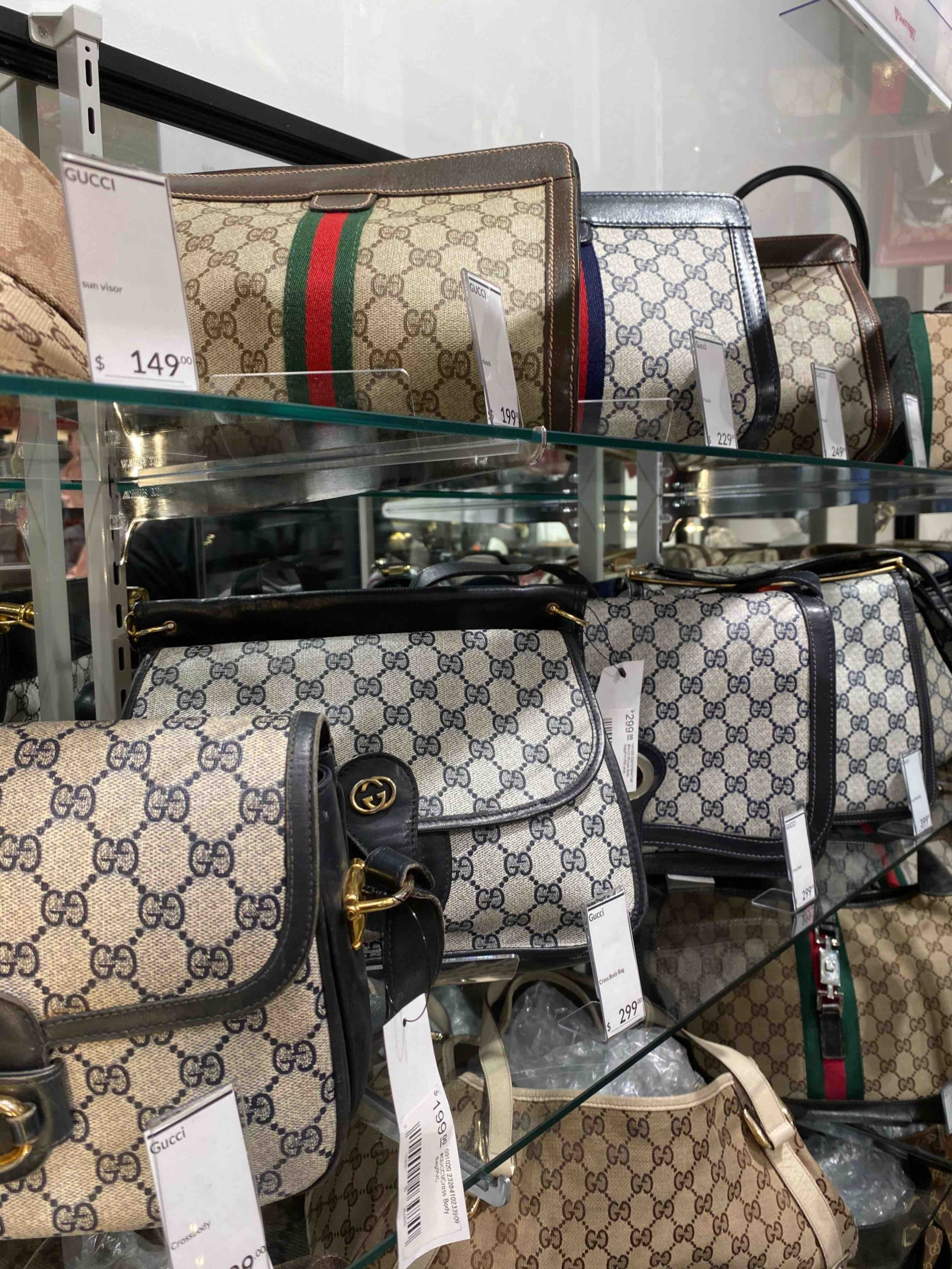 Stock up on Vintage Gucci At This NYC Thrift Store