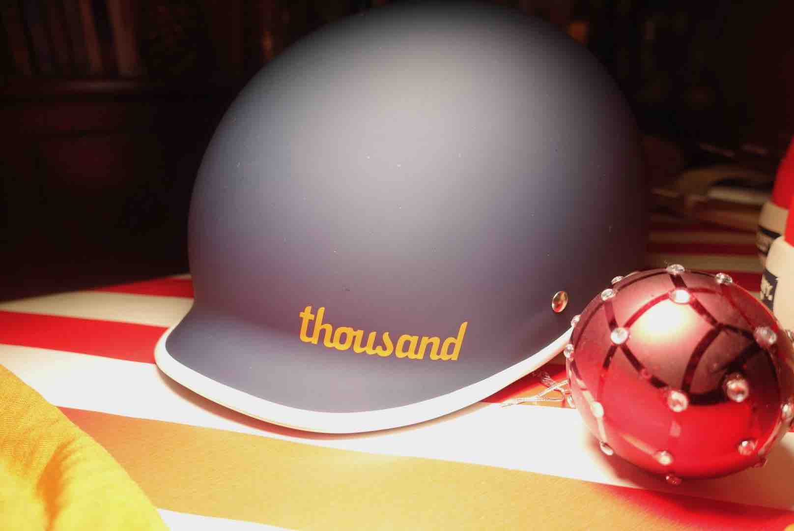 Thousand Heritage Helmet Is A Stylish Gift For Outdoor Sports