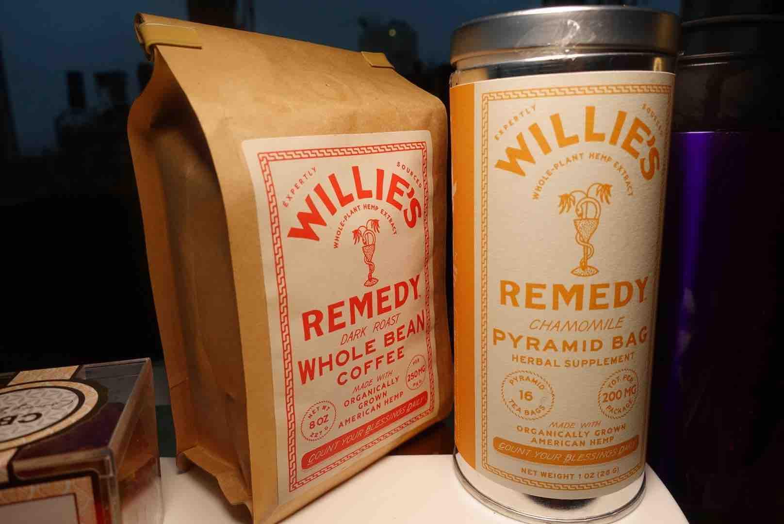 Willie's Remedy CBD Coffee & Tea Gift