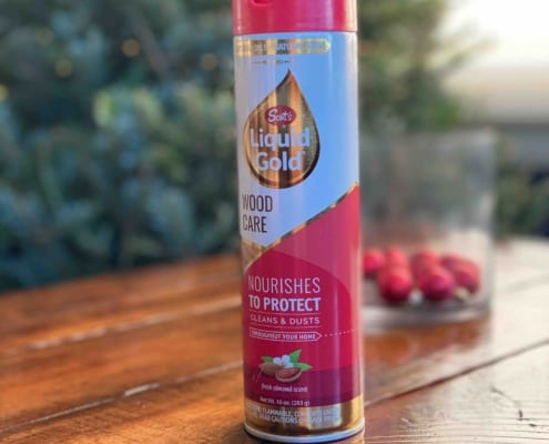 Scott's Liquid Gold Is The Best Wood Furniture Cleaning Hack To Help Prepare For The Winter Holidays