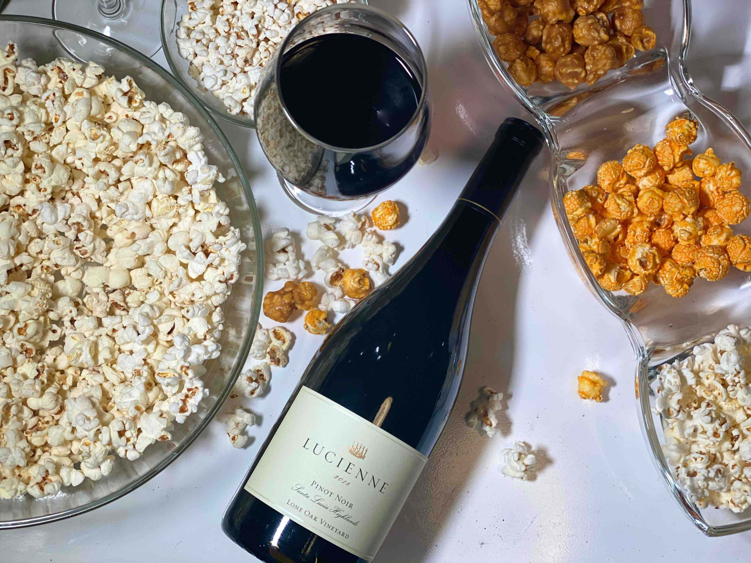 This Pinot Noir Is Best Wine And Popcorn Pairing For Your Next Binge-Watching Night