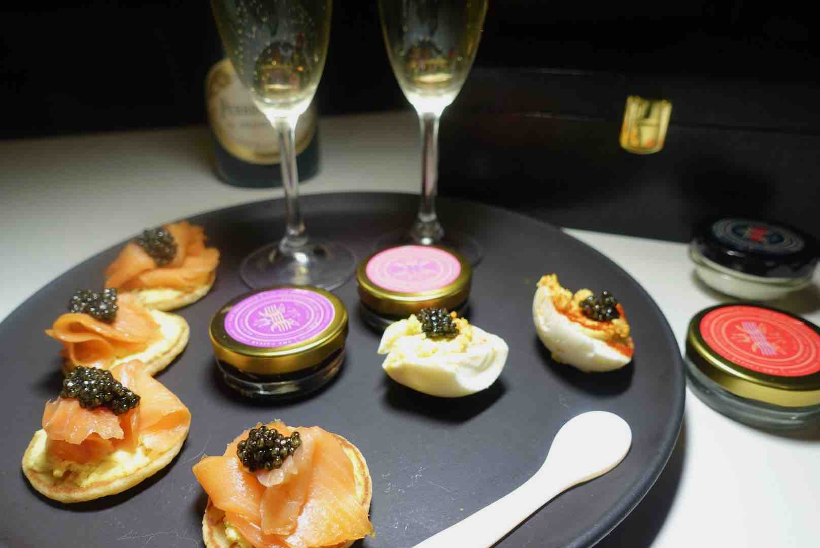 Eating Caviar Is One Way Spend Valentine's Day At Home