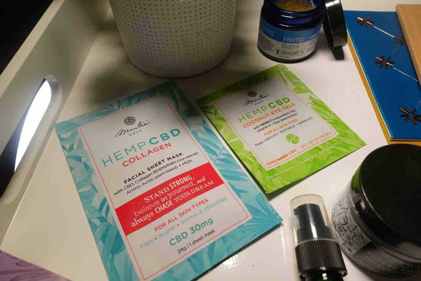 Hemp Facial Sheet Mask : These CBD Products Will Help Alleviate Discomfort From Stress, Aches And Tensions