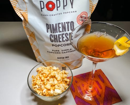 Fourth Regiment Cocktail Pairs Well With Pimento Cheese Popcorn