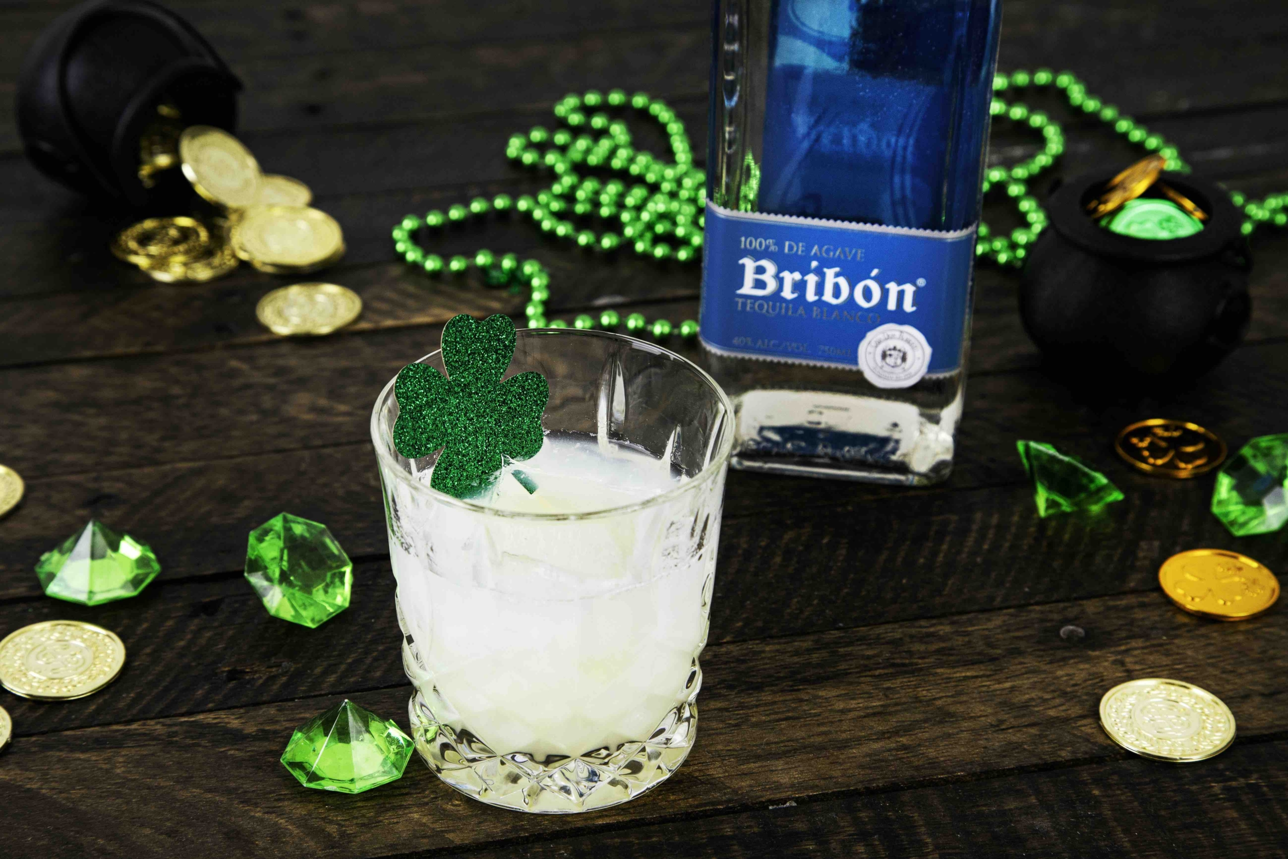 This Tequila Cocktail Is One Of the St Patrick's Day Cocktail Recipes For Home Entertaining